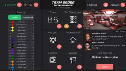 Screenshot 5 de Team Order: Racing Manager para windows