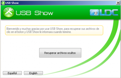 Captura de Pantalla 2 de Usb show para windows
