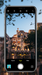 Captura 9 de Cámara para iphone 12 - OS14 Camera HD para android