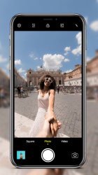 Captura de Pantalla 10 de Cámara para iphone 12 - OS14 Camera HD para android