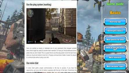 Screenshot 11 de Call of Duty WARZONE Game Guide para windows