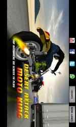 Captura de Pantalla 1 de DESERT ATTACK: MOTO KING para windows