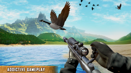 Captura 4 de juegos de escopetas: Juegos de caza de pájaros para android