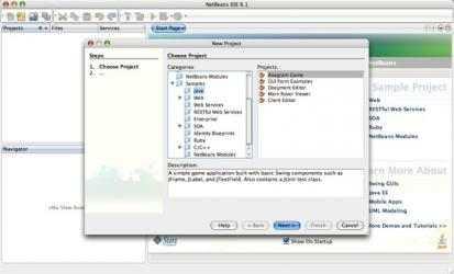 Captura 3 de Apache NetBeans para mac