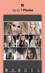 Captura de Pantalla 2 de Photo Collage Maker & Pic Editor 2020 para android