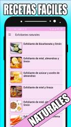 Screenshot 5 de Mascarillas naturales en casa para android