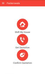 Captura de Pantalla 11 de Packerswala - Packers and Movers App para android