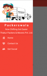 Screenshot 10 de Packerswala - Packers and Movers App para android