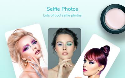 Screenshot 11 de Maquillaje facial y cámara editor de fotos para android