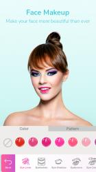 Captura 5 de Maquillaje facial y cámara editor de fotos para android