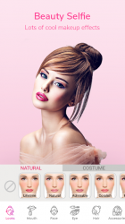 Screenshot 3 de Maquillaje facial y cámara editor de fotos para android