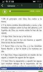 Screenshot 4 de Spanish Holy Bible with Audio para windows