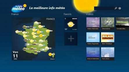Captura de Pantalla 2 de La Chaîne Météo para windows