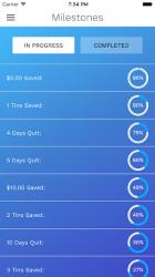 Screenshot 5 de DipQuit Pro: Quit Dipping Smokeless Tobacco para android