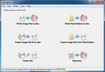 Screenshot 3 de ImgBurn para windows