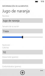 Captura de Pantalla 9 de Diario de los alimentos para windows