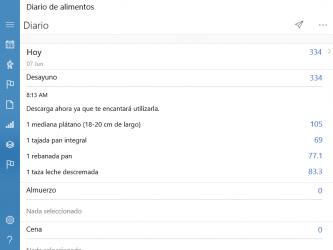 Screenshot 4 de Diario de los alimentos para windows