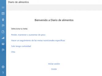 Captura de Pantalla 7 de Diario de los alimentos para windows
