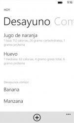 Captura de Pantalla 8 de Diario de los alimentos para windows