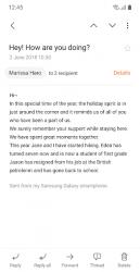 Captura 4 de Samsung Email para android