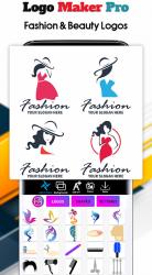 Captura de Pantalla 7 de Logo Maker 2020- Logo Creator, Logo Design para android