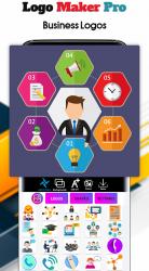 Screenshot 6 de Logo Maker 2020- Logo Creator, Logo Design para android