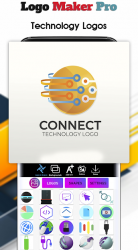 Screenshot 8 de Logo Maker 2020- Logo Creator, Logo Design para android