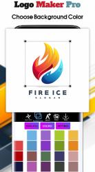 Screenshot 12 de Logo Maker 2020- Logo Creator, Logo Design para android