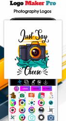 Captura de Pantalla 3 de Logo Maker 2020- Logo Creator, Logo Design para android