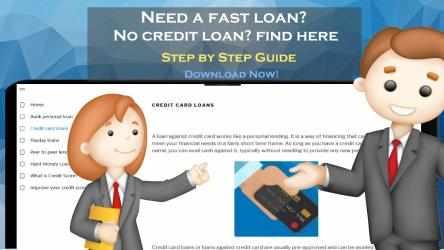 Captura 2 de Borrow money loan guide! payday loans credit score para windows