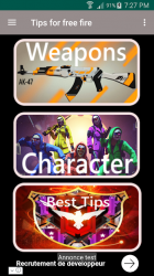 Imágen 5 de Tips for free fire ProGuide 2019 para android