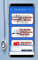 Screenshot 4 de free guide education medical Sexual health life para android