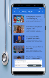 Captura de Pantalla 8 de free guide education medical Sexual health life para android