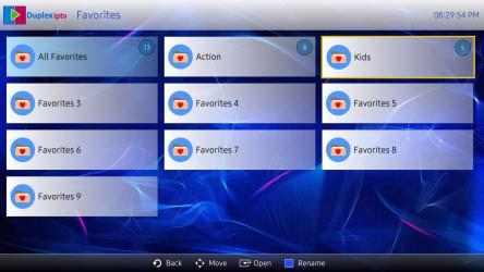 Captura de Pantalla 2 de Duplex IPTV para windows