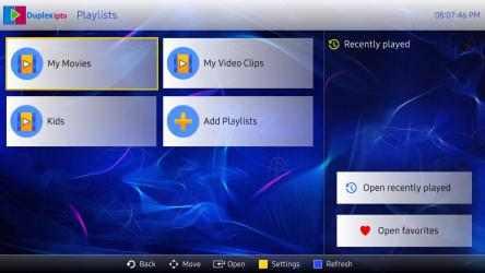Screenshot 1 de Duplex IPTV para windows
