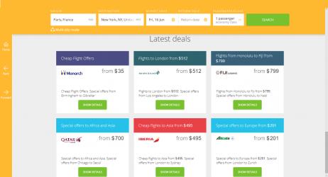 Screenshot 3 de Boletos Avión baratos para windows