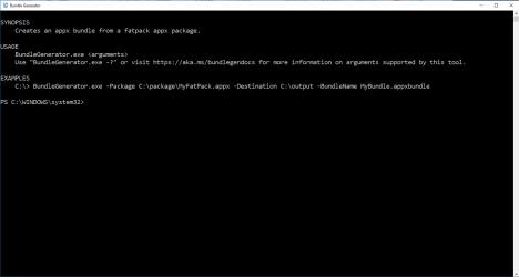 Screenshot 1 de Bundle Generator para windows