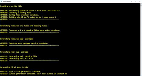 Captura de Pantalla 2 de Bundle Generator para windows