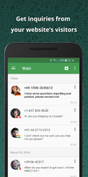 Captura de Pantalla 7 de Wabi - Número virtual para WhatsApp Business para android