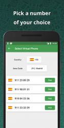 Captura de Pantalla 4 de Wabi - Número virtual para WhatsApp Business para android