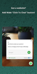 Captura 6 de Wabi - Número virtual para WhatsApp Business para android