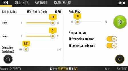 Screenshot 3 de Hugo Free Casino Slot Machine para windows