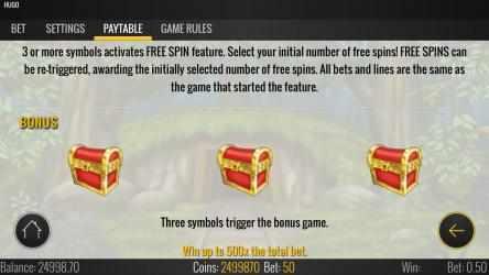 Screenshot 12 de Hugo Free Casino Slot Machine para windows