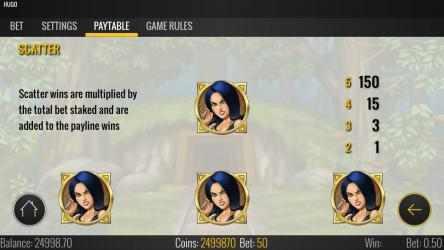 Captura 11 de Hugo Free Casino Slot Machine para windows