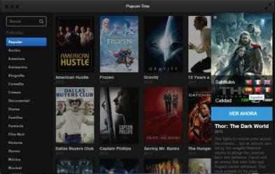 Captura 7 de Popcorn Time para mac