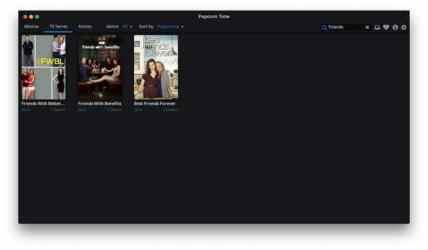 Screenshot 4 de Popcorn Time para mac