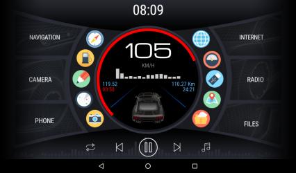 Screenshot 4 de Curve - theme for CarWebGuru launcher para android