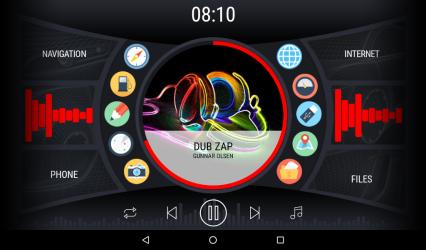 Screenshot 8 de Curve - theme for CarWebGuru launcher para android