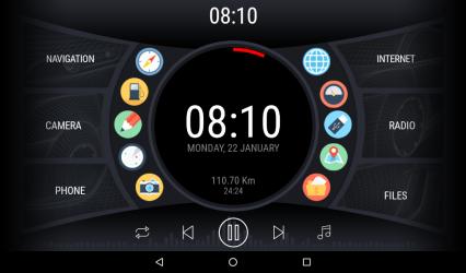 Imágen 9 de Curve - theme for CarWebGuru launcher para android