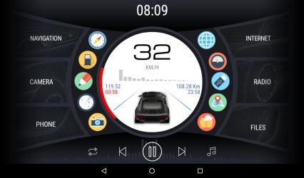Imágen 3 de Curve - theme for CarWebGuru launcher para android
